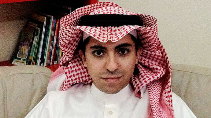 Saudi blogger sentenced to 1,000 lashes may face death penalty – wife
