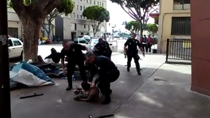 Protests over LAPD fatally shooting mentally ill homeless man