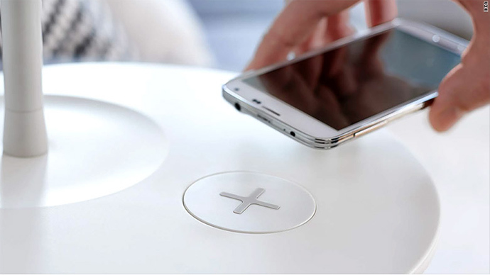 No more wires: Ikea unveils furniture with built-in wireless device charging