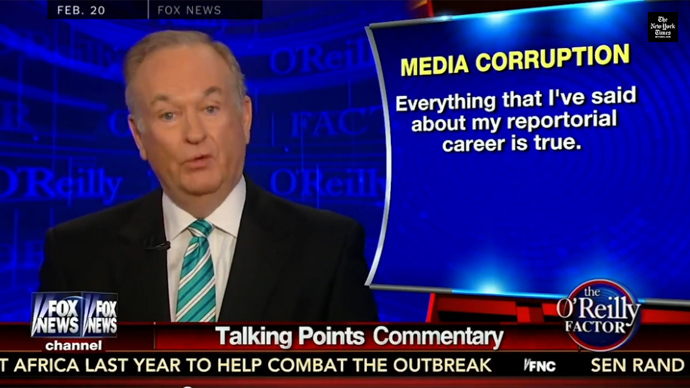 Bill O'Reilly (Screenshot from youtube.com)