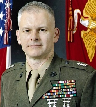 Retired Marine Corps Maj. Gen. Vaughn Ary issued the relocation order for military judges (Department of Defense).