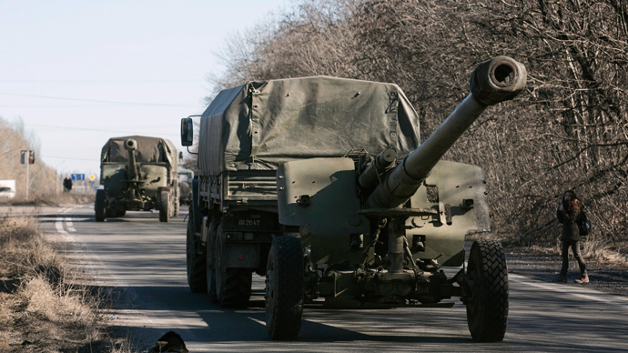 OSCE confirms Donetsk & Lugansk militias withdrawing heavy weapons from contact line