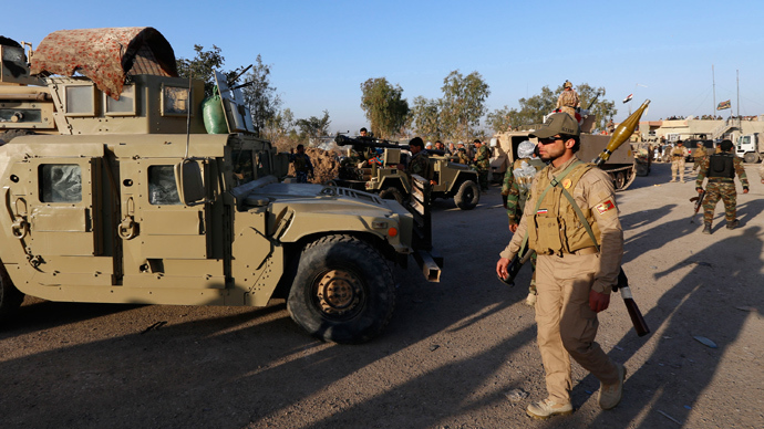 ISIS leaders pull back from Tikrit amid massive Iraqi assault on stronghold – reports