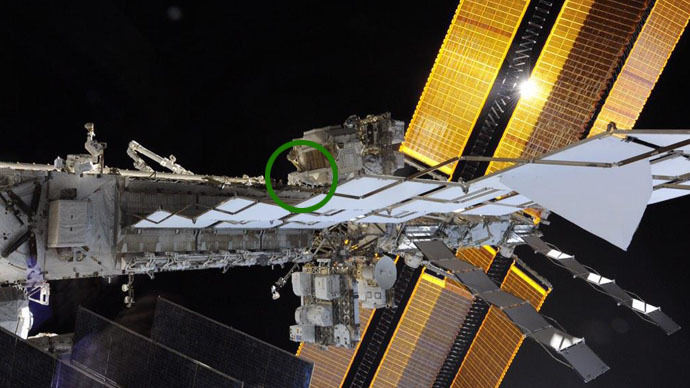 'Spot the space walker in this picture?' Astronaut captures ISS magnitude