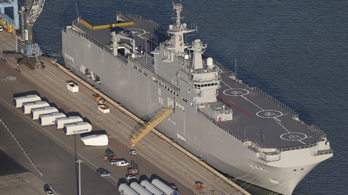 Russia may sanction French companies over Mistral non-delivery – media