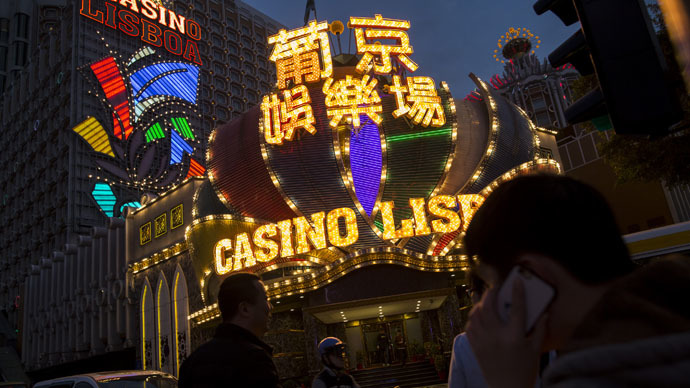 World's biggest gambling hub in China sees revenues down record 49% in February