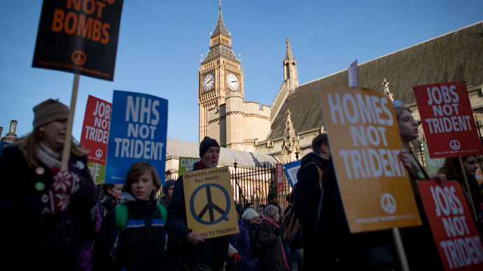 ​Nuke Free World? 75% of Labour candidates oppose Trident renewal
