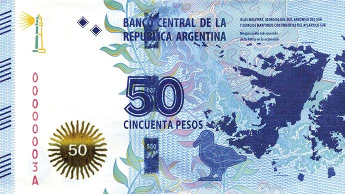 UK mocks Argentina's Malvinas-Falklands banknote 'stunt'