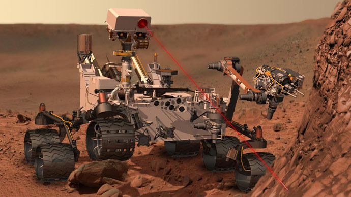 Broken arm: Mars rover Curiosity gets stopped for repairs