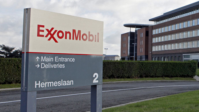 ExxonMobil boosts Russian oil assets by 450% in 2014, despite sanctions