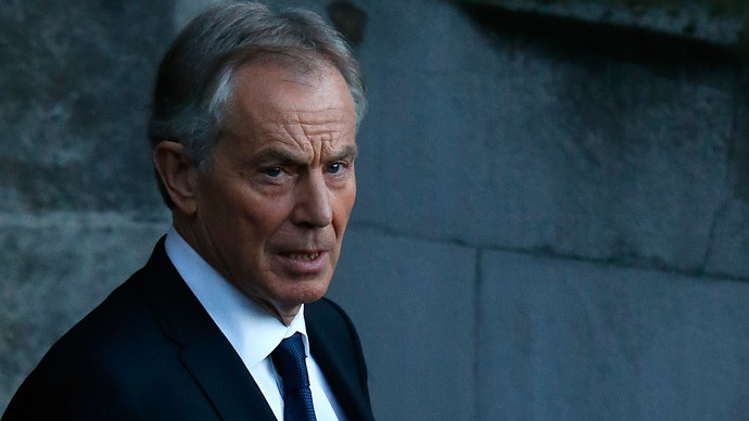 ​Ill-gotten gains? Tony Blair donates over £100K to Labour election drive