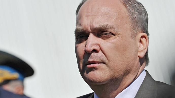 Anatoly Antonov, Russian Deputy Defense Minister.(RIA Novosti / Ramil Sitdikov)