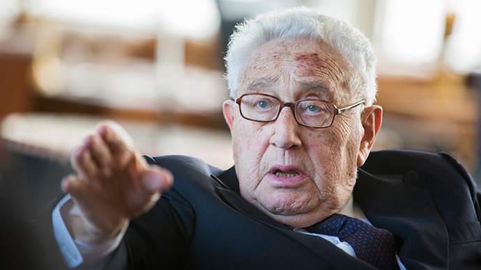 US State Dept. sued over Henry Kissinger phone records
