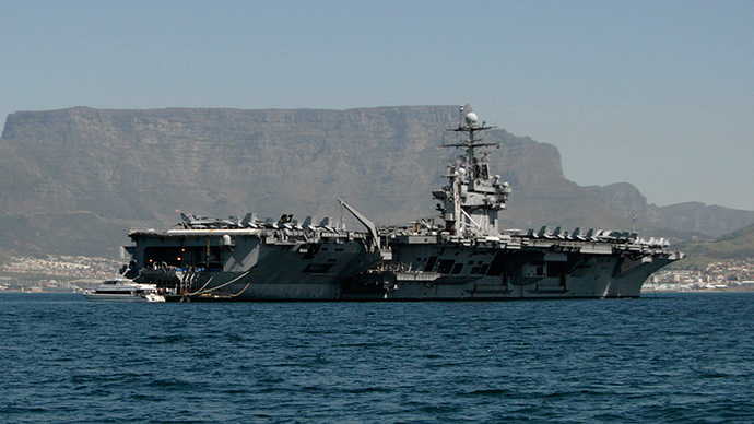 French delete evidence US carrier was 'sunk' by sub in drill