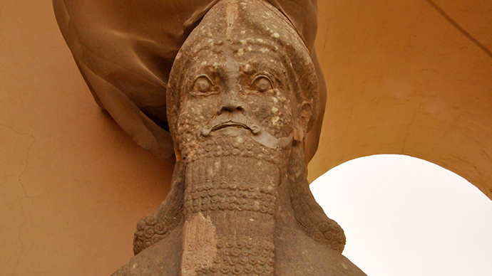 'War crime': ISIS bulldozes ancient Assyrian city in Iraq