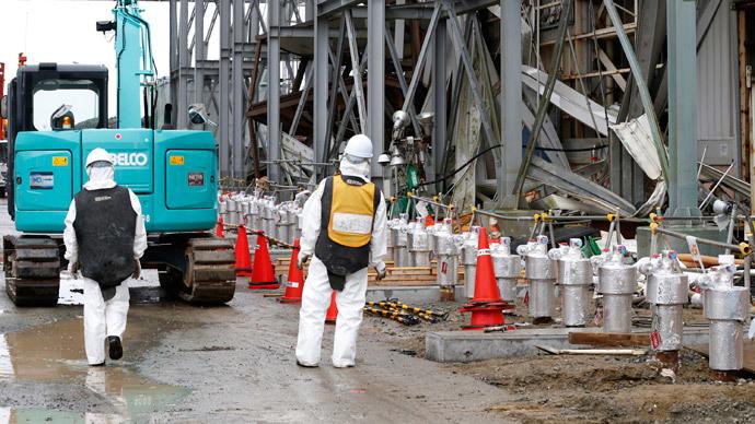 Radioactive water found in Fukushima, source unknown