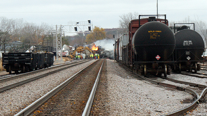Cars in Illinois oil train derailment deemed 'safer' than others