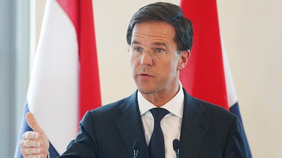 Dutch Prime Minister Mark Rutte (Reuters / Olivia Harris)