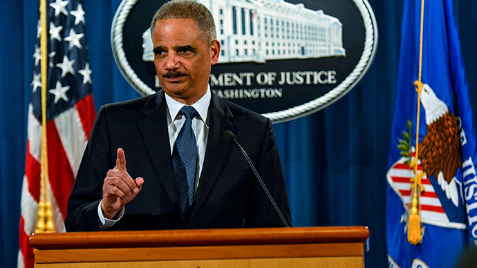 Holder 'prepared' to dismantle Ferguson Police Dept, if necessary