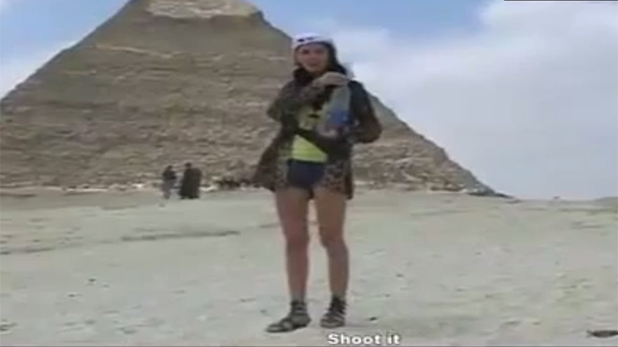 ​Sphinx, cover your eyes! Porn filmed at Egypt pyramid triggers shock & investigation