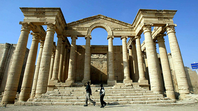 ISIS militants destroy ancient remains of 2,000yo city of Hatra – Iraq govt