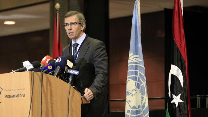 U.N. Special Representative Bernardino Leon. (Reuters/Stringer)