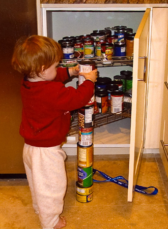 Repetitively stacking objects is a behavior sometimes associated with autism.(Image from wikipedia.org)