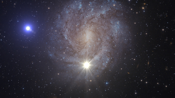 Run, star, run! Fastest star known breaks free from our galaxy's bonds