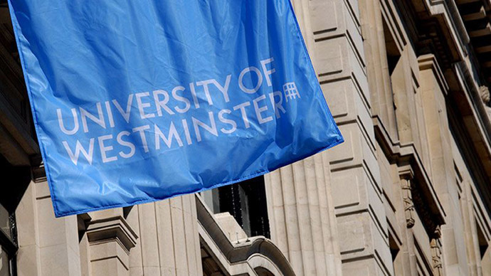 University of Westminster - identified as a breeding ground for radicals (Image from westminster.ac.uk)