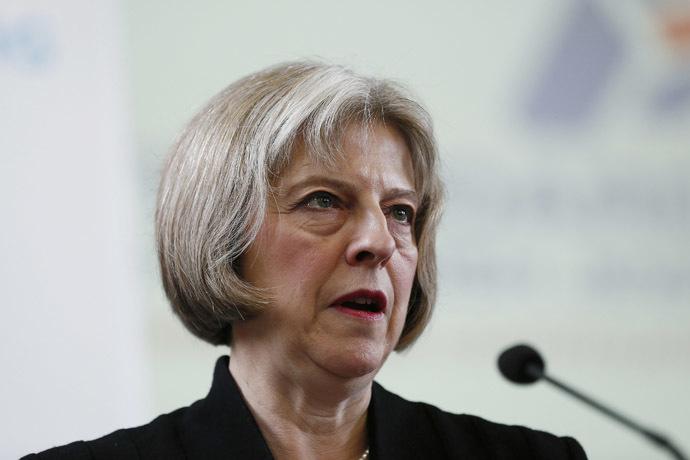 Home Secretary Theresa May (Reuters/Stefan Wermuth)