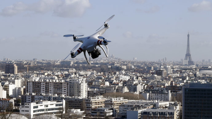 Drone breaks into French military communications site airspace
