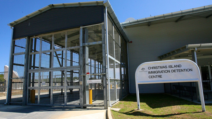 Christmas Island Immigration Detention Centre (Photo from wikipedia.org)