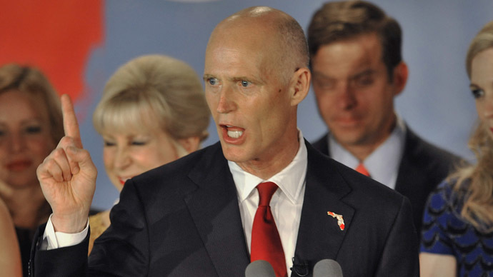 Republican Florida Governor Rick Scott (Reuters/Steve Nesius)