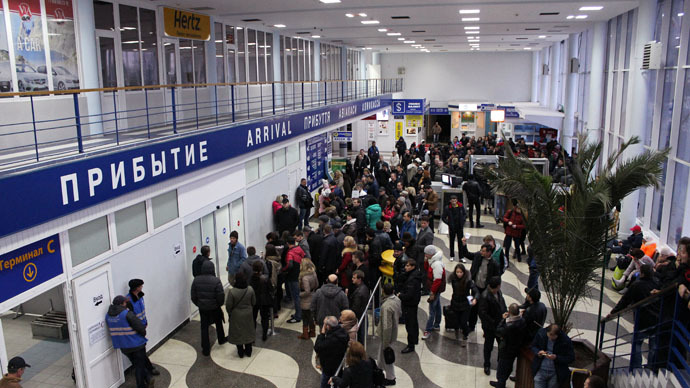Crimea's Simferopol airport evacuated after anonymous bomb call - reports