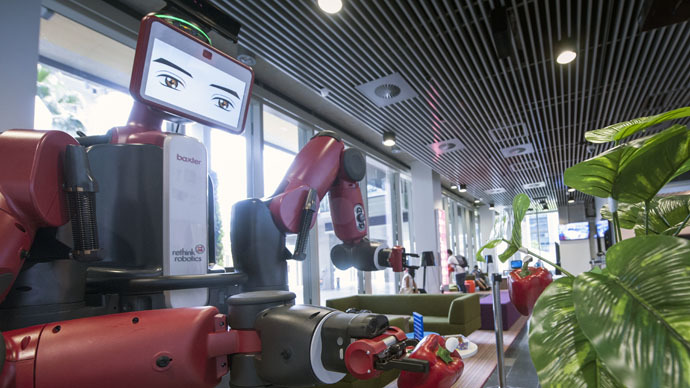 Robovision: Australian scientists work on robot that can 'see'