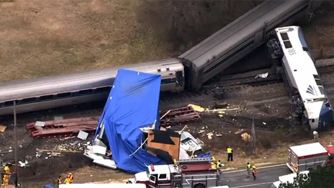 55 injured as Amtrak train derails in N. Carolina after truck collision