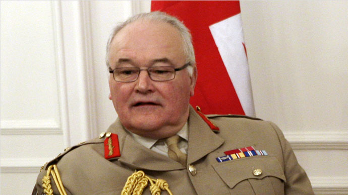 UK lost 'national appetite' for war, says top general
