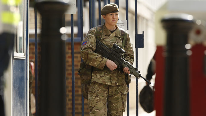 ​Camouflage ceiling? Women's role in military reviewed