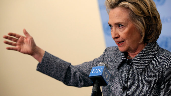 Hillary Clinton claims e-mail system installed for Bill was 'effective & secure'