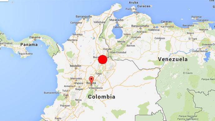 Evacuations as 6.6 earthquake shakes Colombia capital