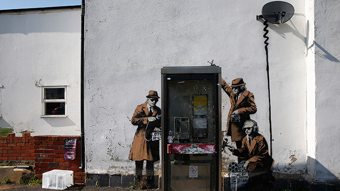 ​Banksy spy mural causes headache for Grade 2-listed house owner