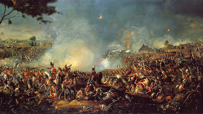 Battle of Waterloo, 1815 (Image from wikipedia.org)