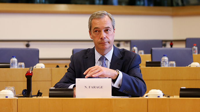Farage race row: 'Brits think Muslims will form fifth column & kill us'