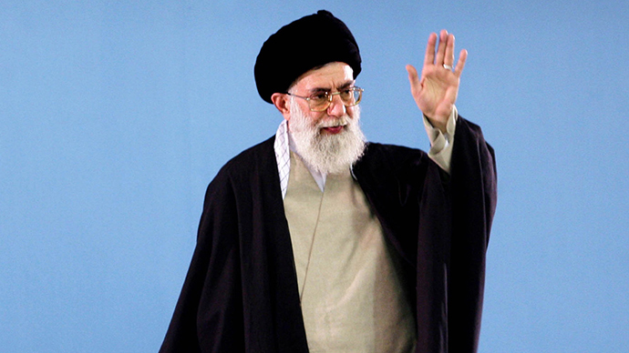 Iran's supreme leader slams 'backstabbing' Americans over senators' letter