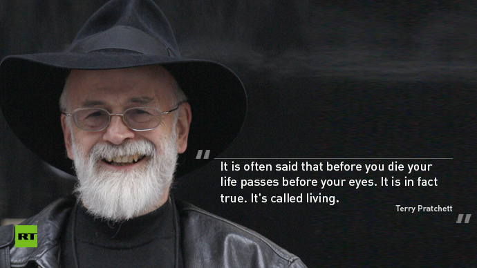 'So much universe, and so little time': Fans remember Terry Pratchett's best quotes