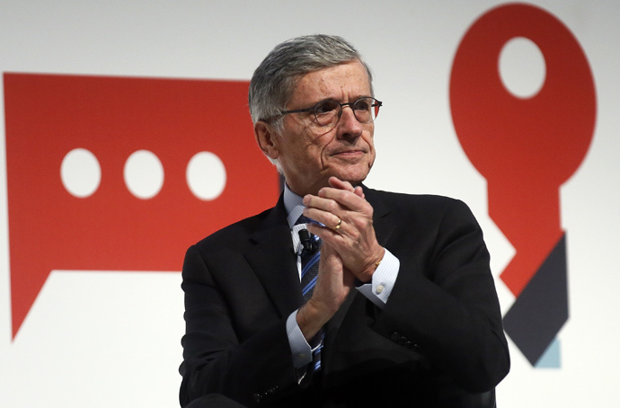 Tom Wheeler, the head of the U.S. Federal Communications Commission (Reuters / Albert Gea)