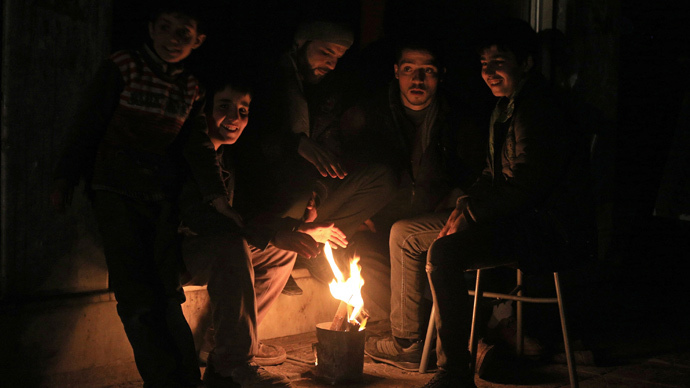 Plunge into darkness: 83% of Syrian electricity wiped out