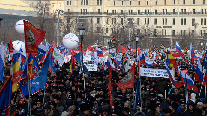 Ruling party MP seeks to ban foreigners from Russian rallies