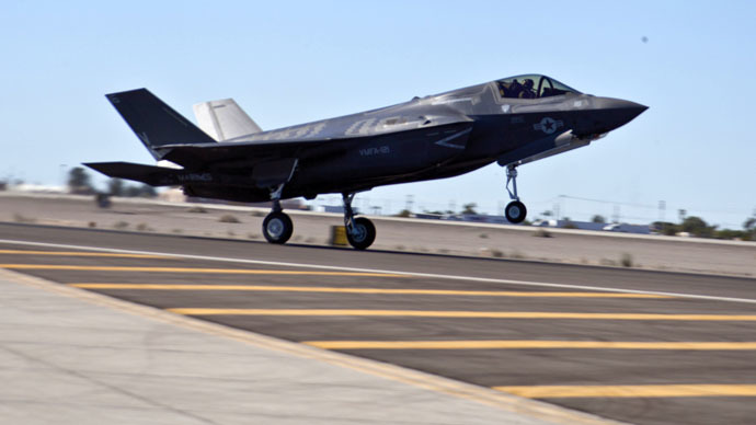 ​F-35 sensors plagued by false alarms - reports