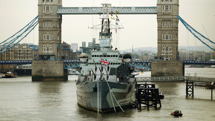 ​Geeks board warship to stop cyber-terrorists blowing up Boris Johnson